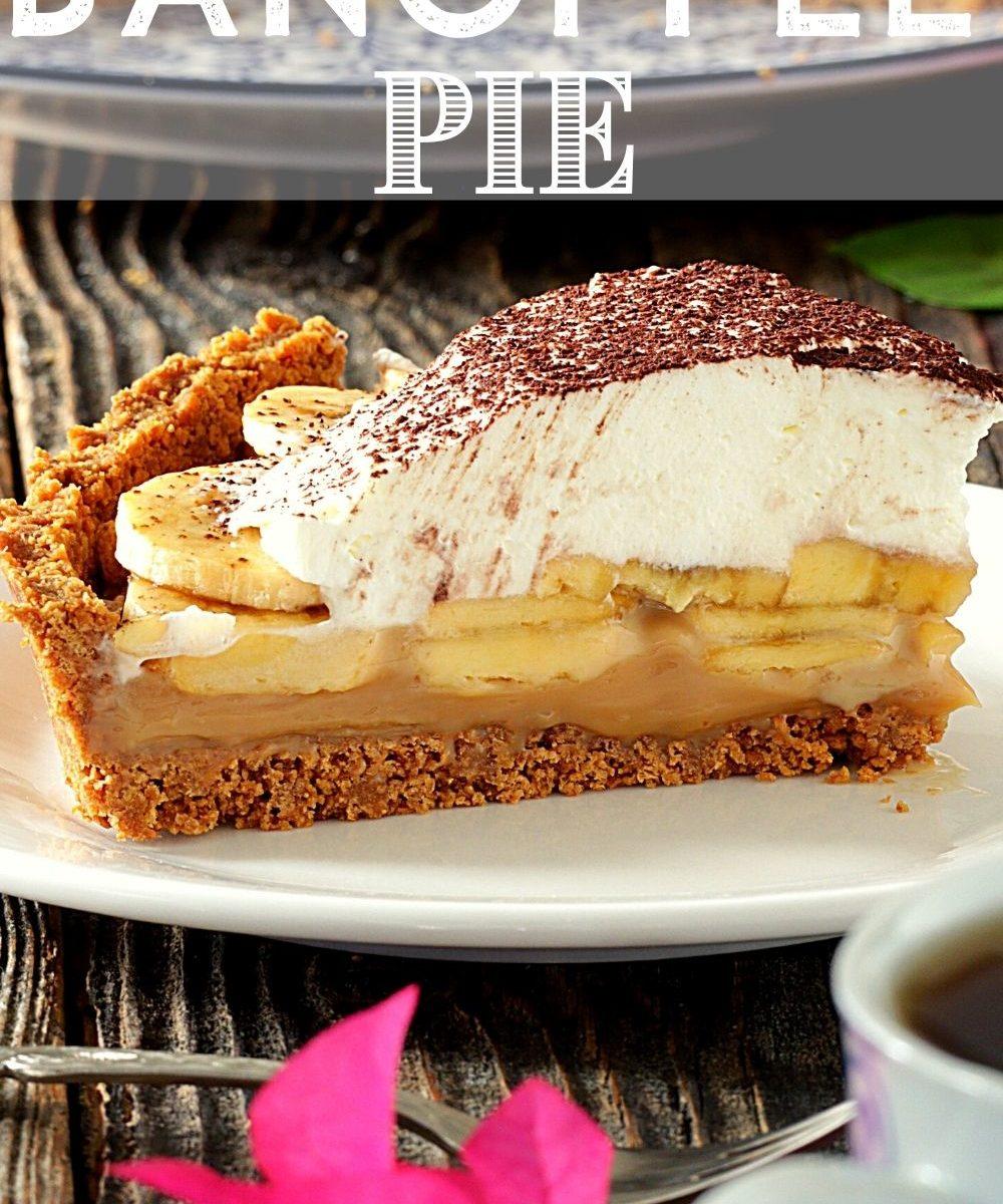 Slice of Banoffee Pie