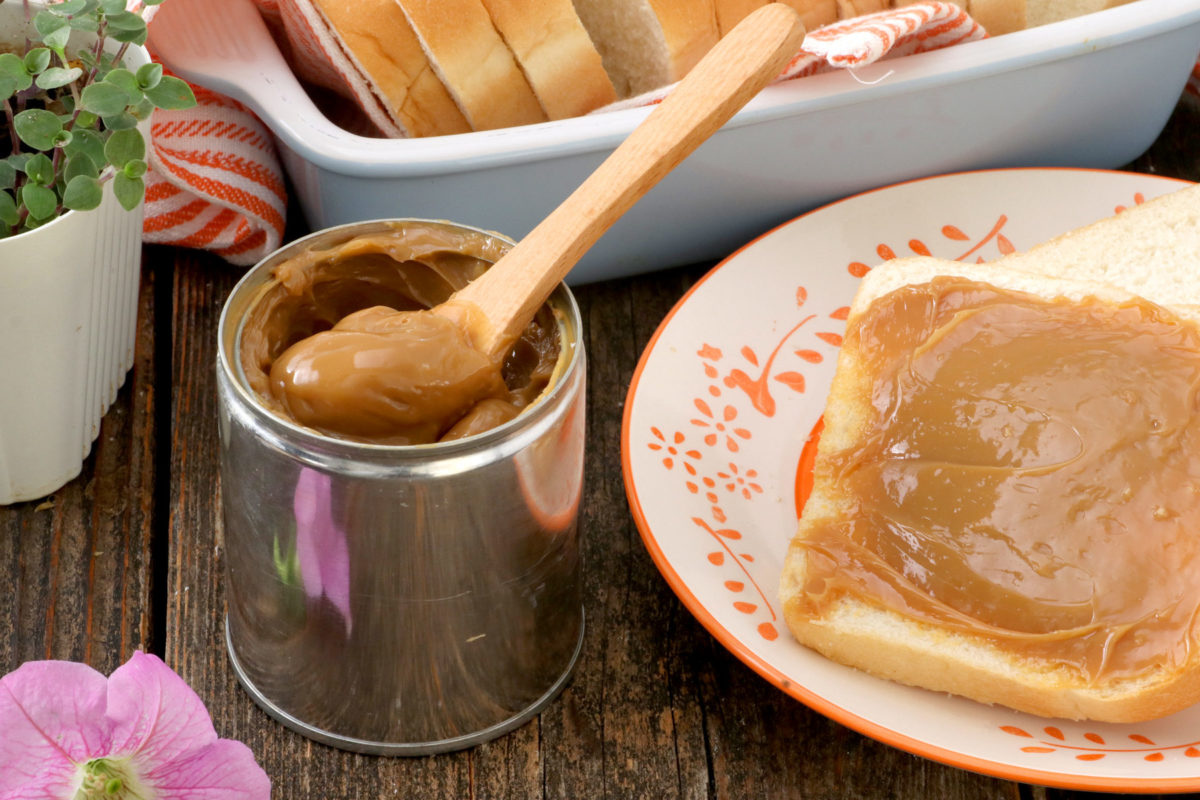 How to make dulce de leche from canned sweetened condensed milk.