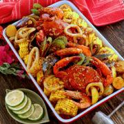 Seafood Boil with Cajun Sauce