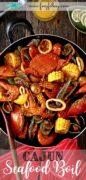 Recipe for Seafood Boil with Cajun Sauce.