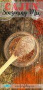Recipe for Cajun Spice Mix.