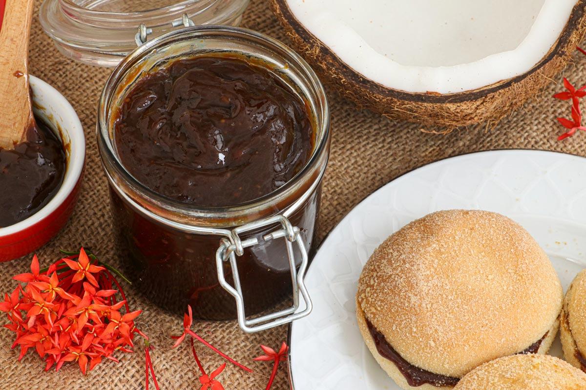 Homemade Coconut jam