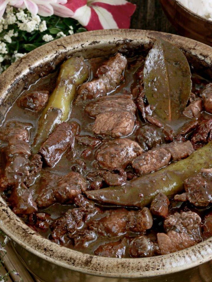 Dinuguan - Pork Blood Stew