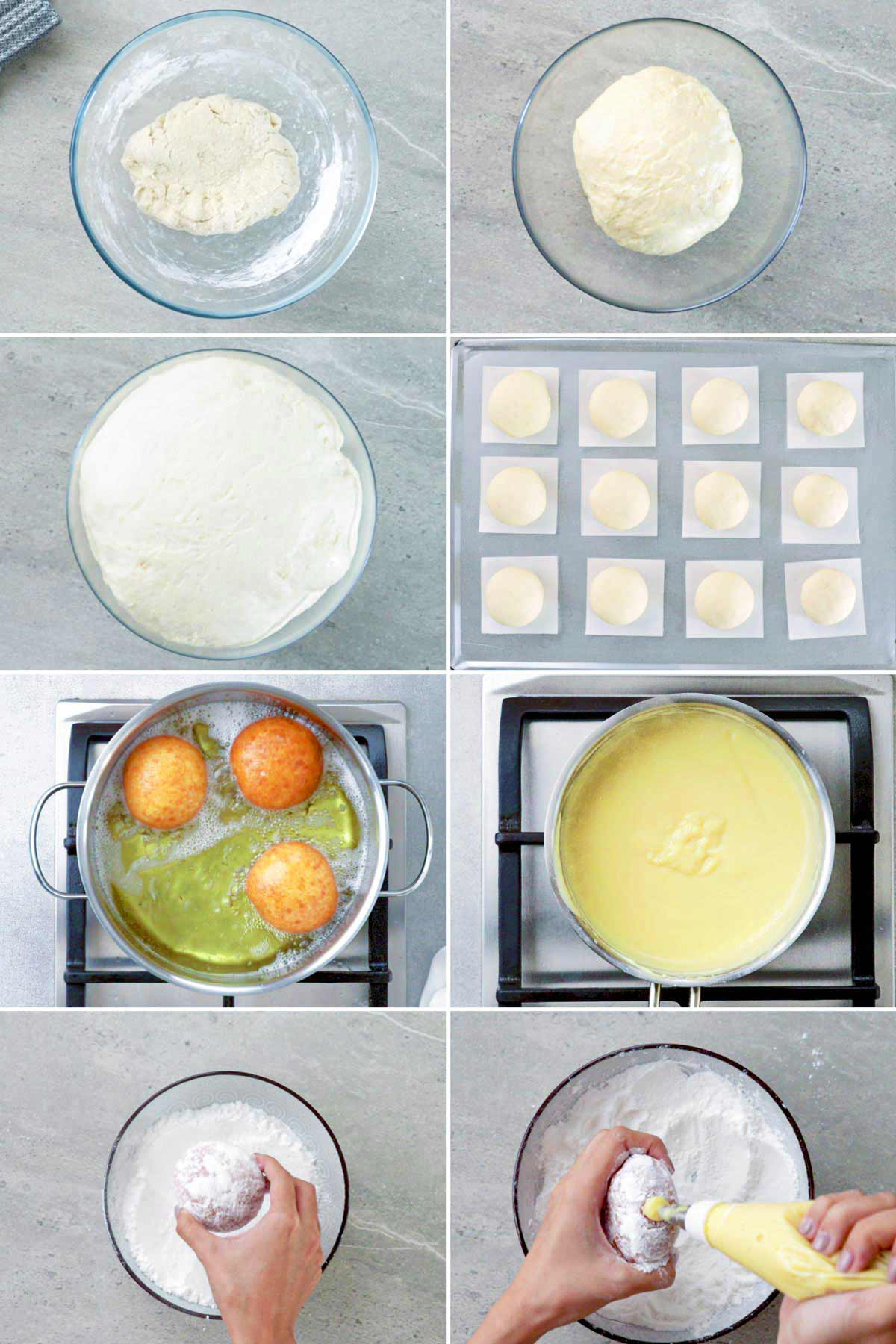 How to make bavarian donuts.